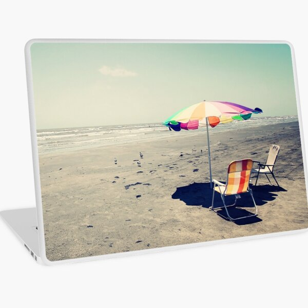 Beach Day Laptop Skin