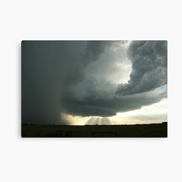 Northern Rivers Supercell Canvas Print