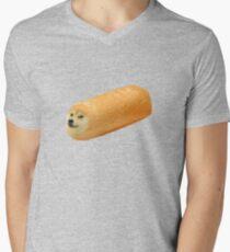 Twinkie Doge Men's V-Neck T-Shirt