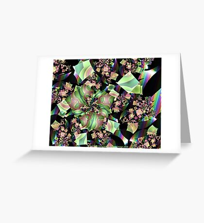 Shattered Rainbow Greeting Card