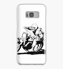Husqvarna Vintage Motorcycle Samsung Galaxy Case/Skin