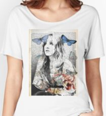 Stevie Nicks Vintage Print Women's Relaxed Fit T-Shirt