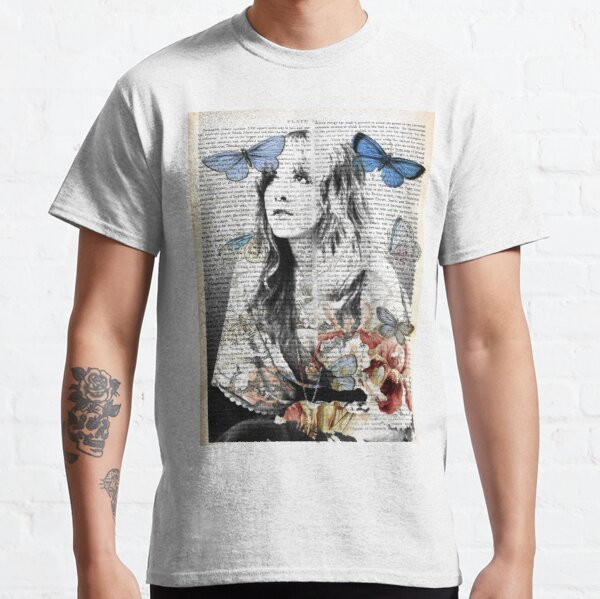 Stevie Nicks Vintage Print Classic T-Shirt