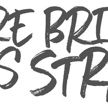 MORE BRICKS LESS STRAW by mrnrobinson