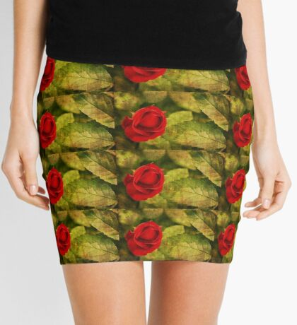 A Rose by Any Other Name Mini Skirt