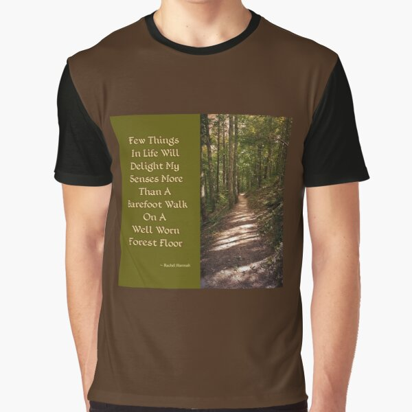 Barefoot Quote Graphic T-Shirt
