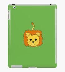 Lion Cartoon Doodle iPad Case/Skin
