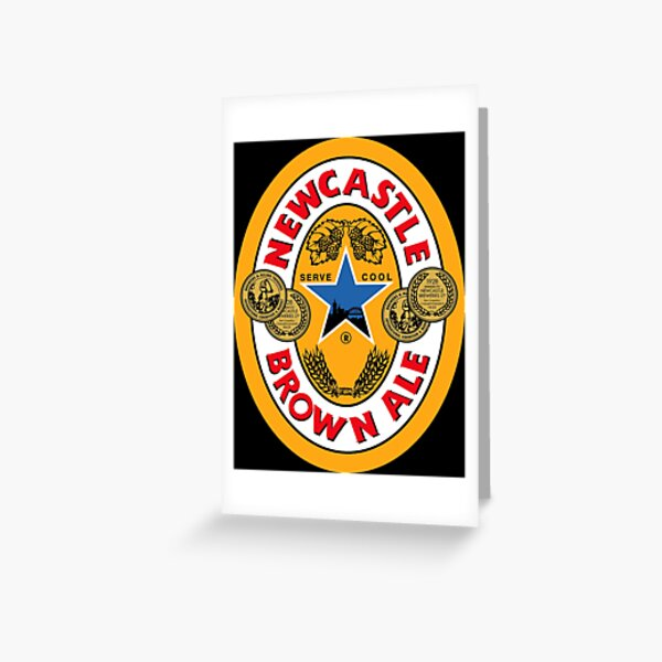 Brown ale newcastle Greeting Card