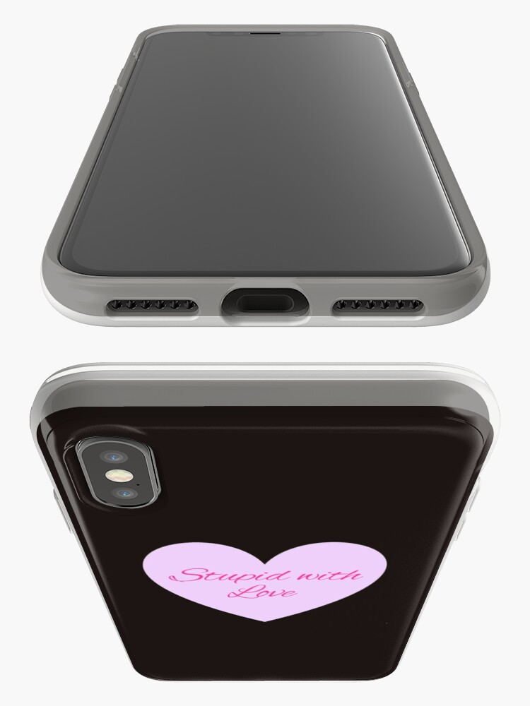 Vista alternativa de Funda y vinilo para iPhone Estúpido con amor - Mean Girls Broadway
