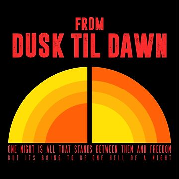 From Dusk Til Dawn Movie Poster by myronmhouse