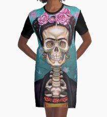 SKULL Graphic T-Shirt Dress