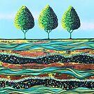 Limelight Trees by Lisafrancesjudd