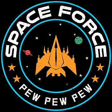 Sunny space force video game style logo by mrhighsky