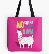 No Drama For This LLama Tote Bag