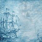 blue sea by Vickin #