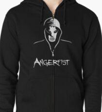 Angerfist Zipped Hoodie