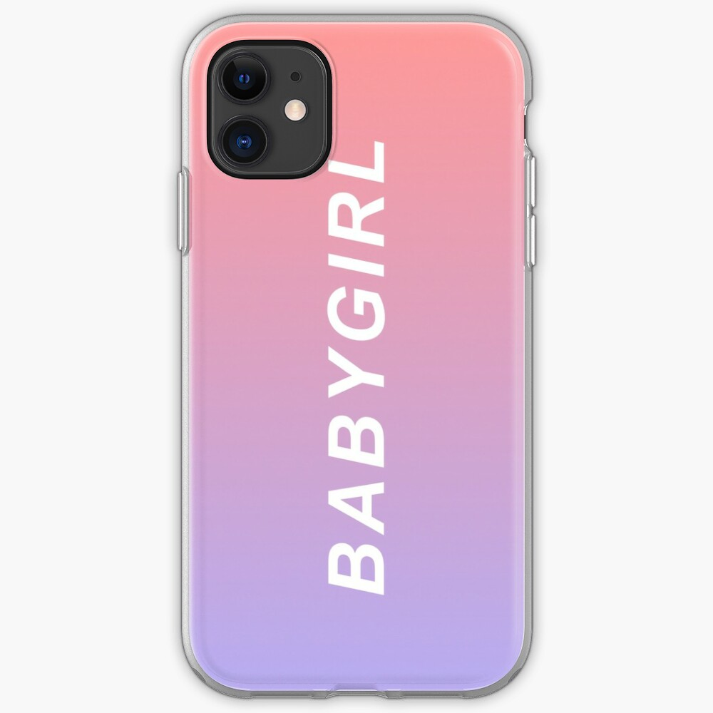 Baby Girl Phone Case iPhone Case & Cover