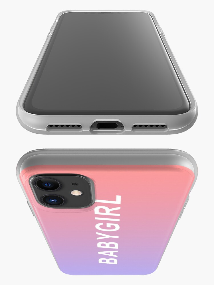 Alternate view of Baby Girl Phone Case iPhone Case & Cover