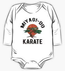 Miyagi tun Karate-Not Baby Body Langarm