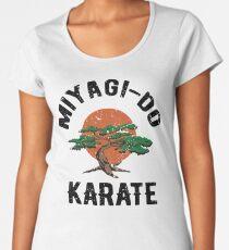 Miyagi tun Karate-Not Frauen Premium T-Shirts