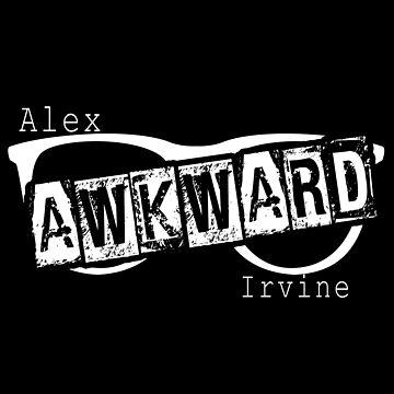 Awkward Alex Irvine by stevencraigart