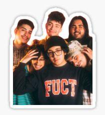 Cuco & His Band Sticker