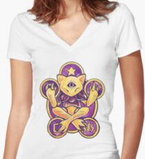 Abra Women's Fitted V-Neck T-Shirt
