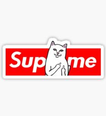 sup on rip n dip Sticker