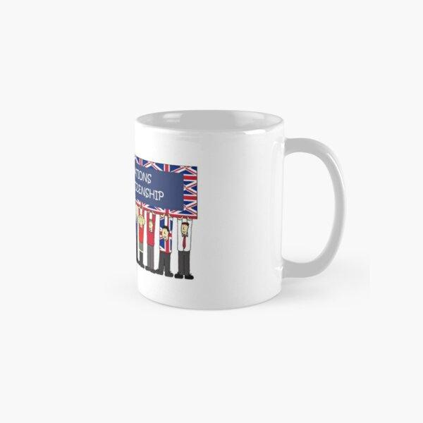 UK Citizenship Congratulations Cartoon Group of People Classic Mug