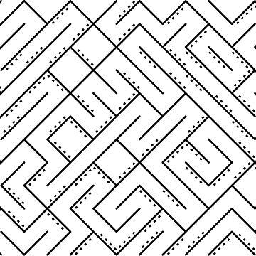 Pattern | Maze dots by swisscreation
