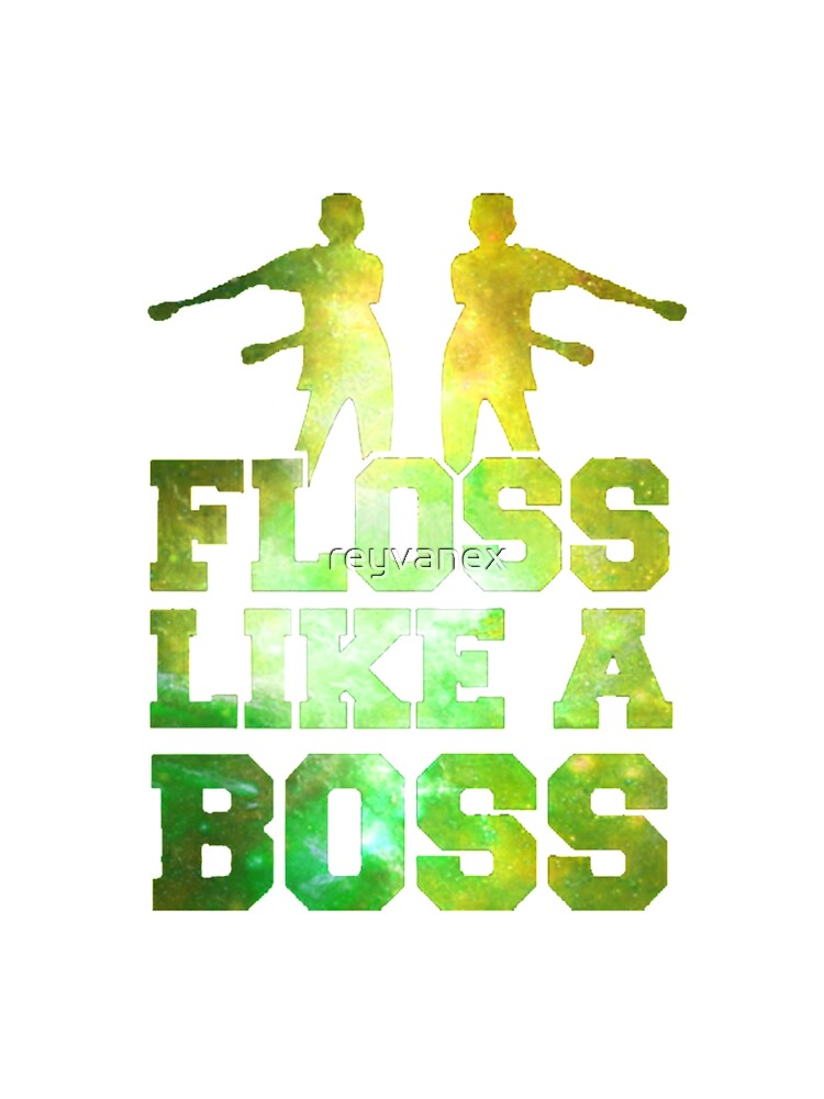 Floss Like a Boss Gaming Black Gold Cotton All In One All Over Design