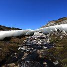 small snow drift by Ian Robinson