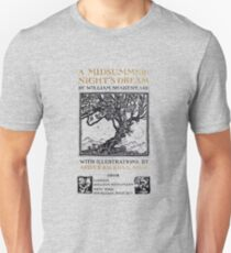 A Midsummer-Night's Dream William Shakespeare Title Page Unisex T-Shirt