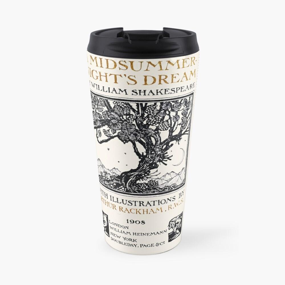 A Midsummer-Night's Dream William Shakespeare Title Page Travel Mug