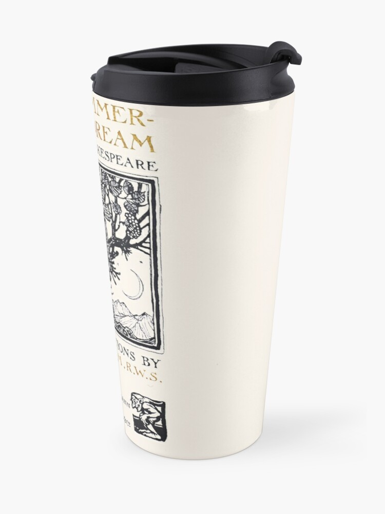 Alternate view of A Midsummer-Night's Dream William Shakespeare Title Page Travel Mug