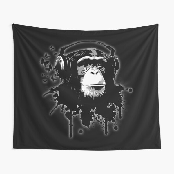 Monkey Business - Black Tapestry