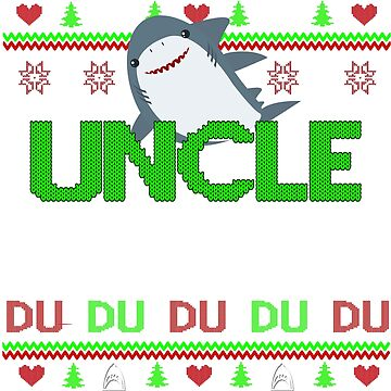 Uncle Shark by ZEETEESAPPAREL