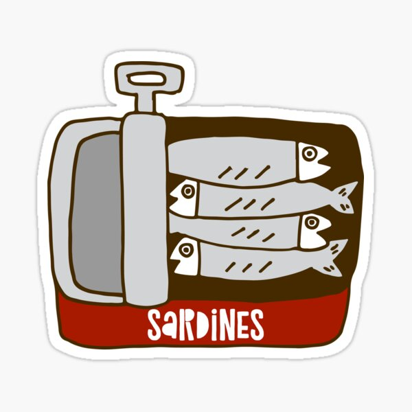 Sardines Sticker