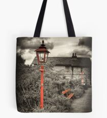 By the Gas Light - Levisham Station Tote Bag