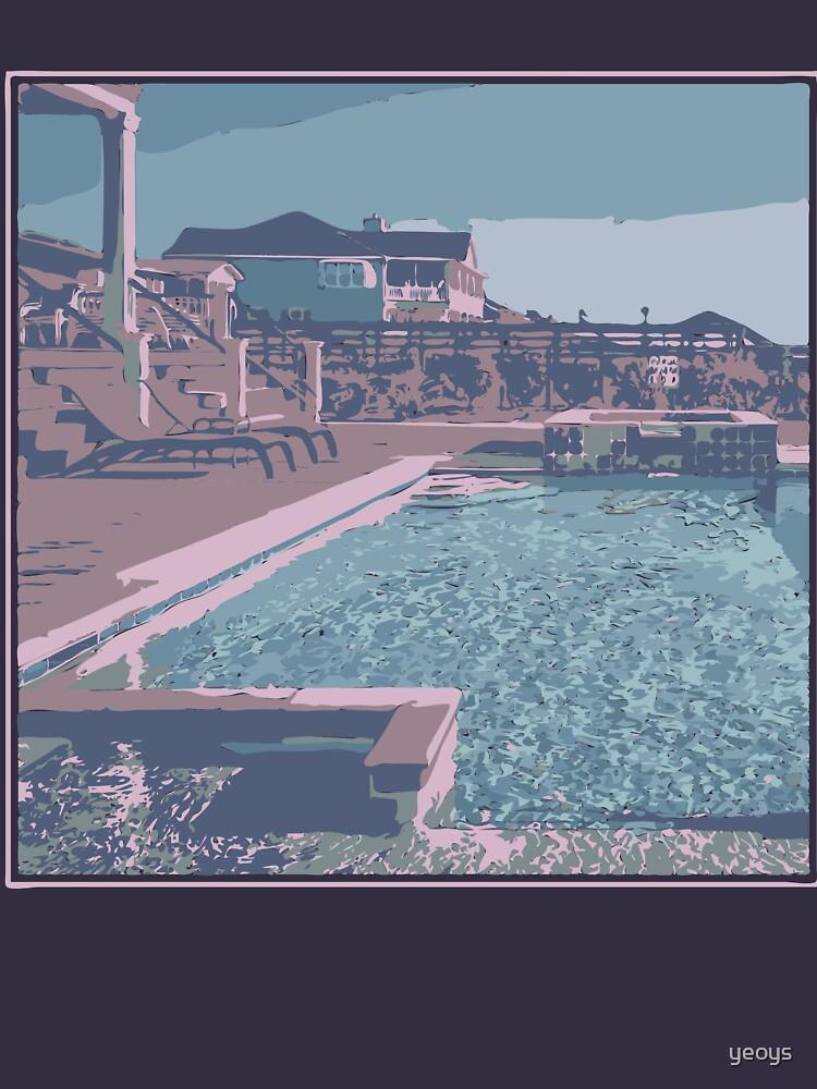 Vaporwave Aesthetics - Funny Swimming Gift von yeoys