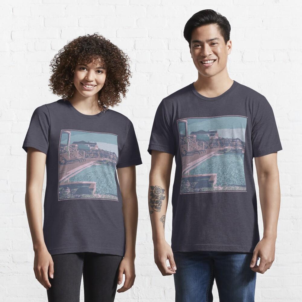Vaporwave Aesthetics - Funny Swimming Gift Essential T-Shirt