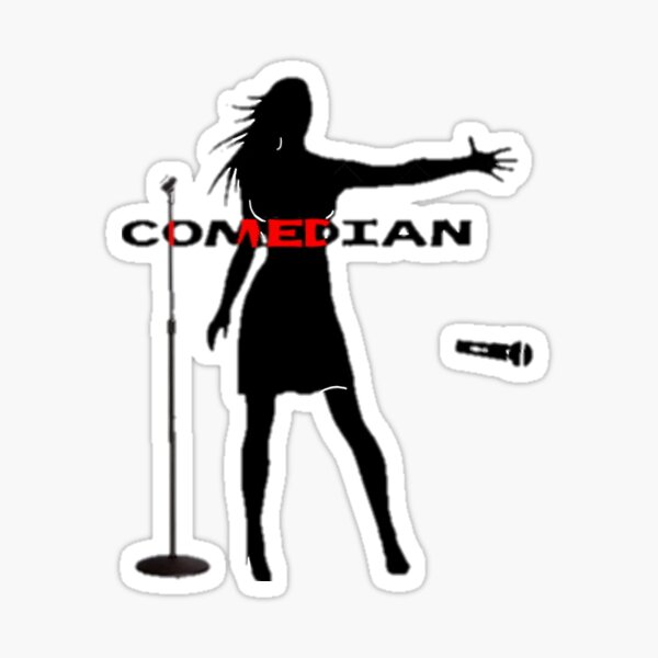 Comedian Sticker