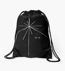 Earth Pulsar Coordinates Drawstring Bag