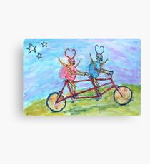 Doctor and Mrs Love Bug Canvas Print