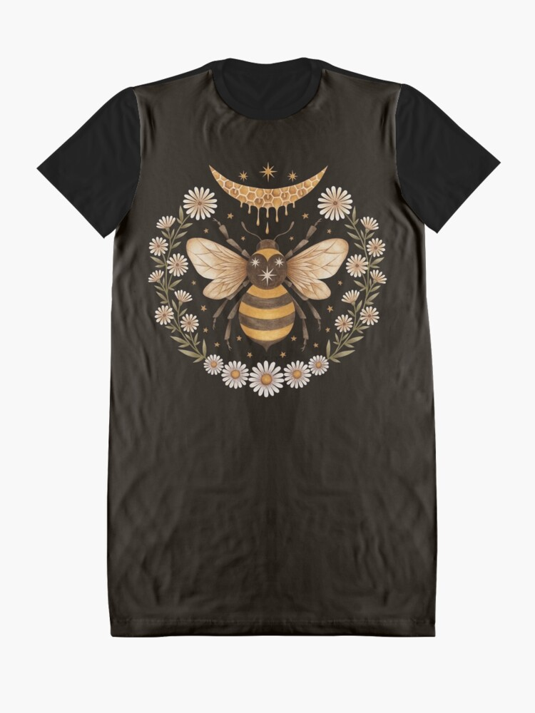 Alternate view of Honey moon Graphic T-Shirt Dress