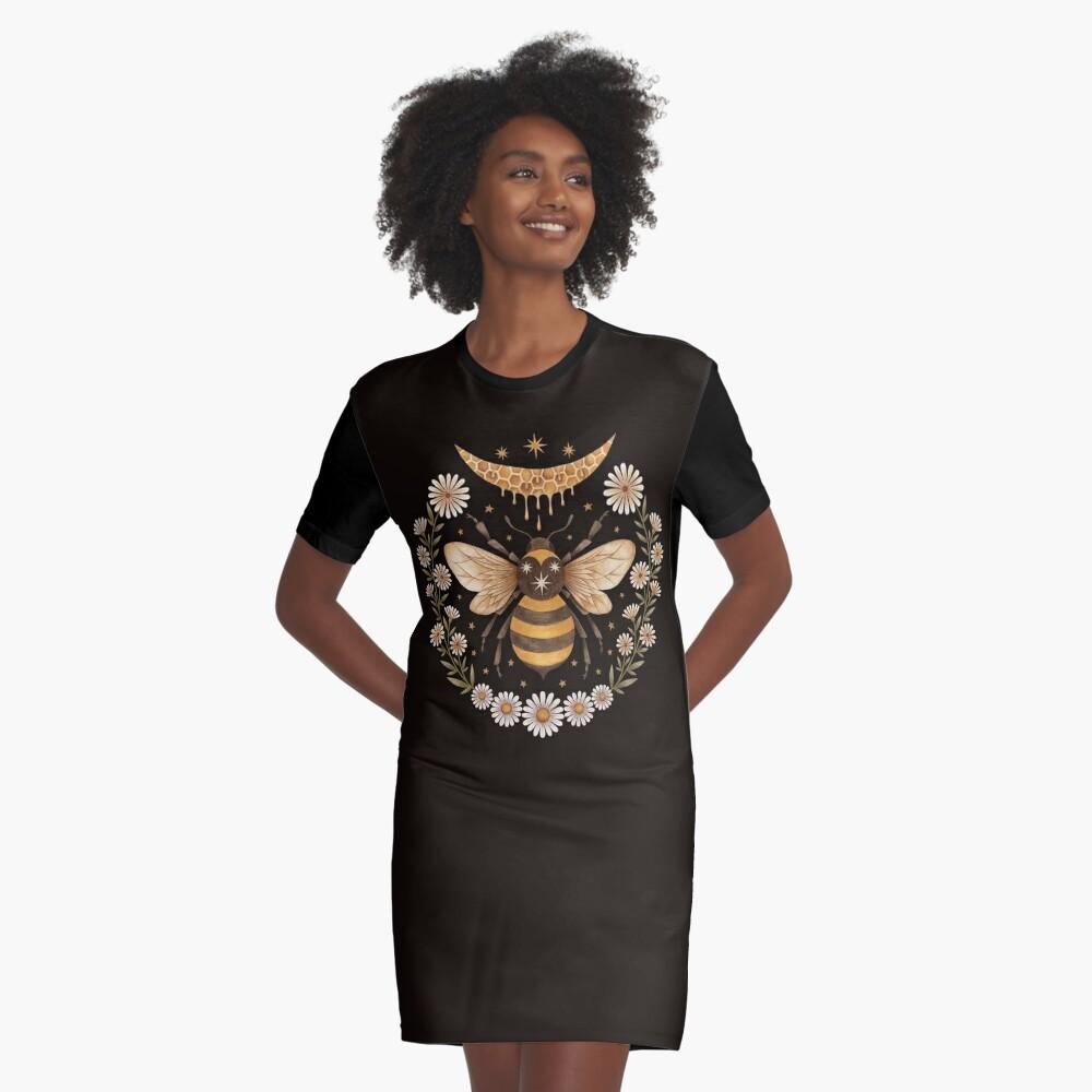 Honey moon Graphic T-Shirt Dress