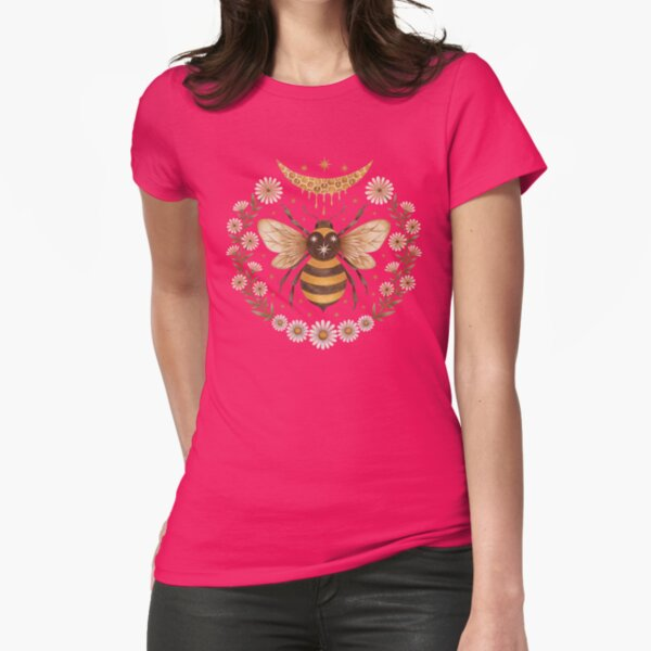 Honey moon Fitted T-Shirt