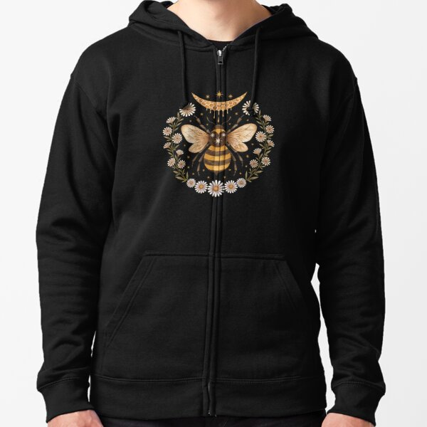 Honey moon Zipped Hoodie