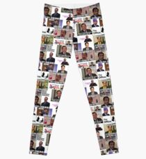The Office US Montage, Dwighst Schute, Michael Scott, Gifts, Presents, Ideas, Good vibes, Comedy, Humor, Cute, Fun, Collage Leggings