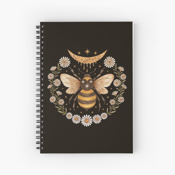 Honey moon Spiral Notebook